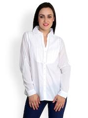 StyleToss Women White Shirt