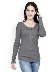 StyleToss Women Grey Top