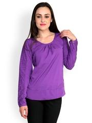 StyleToss Women Purple Top