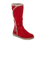 Stylistry Women Red Boots