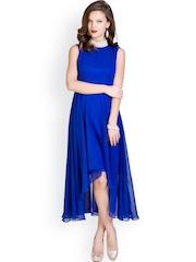 Sugar Her Blue High Low Dress