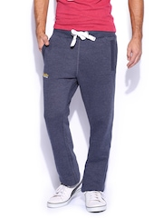 Superdry Men Blue Slim Heel Pop Jog Track Pants