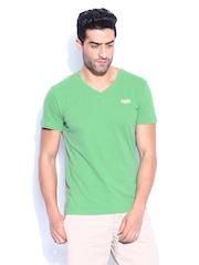 Superdry Men Green Orange Label Vintage T-shirt