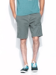 Men Grey Commodity Chino Shorts Superdry