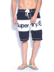 Superdry Men Navy & White Swimming Shorts