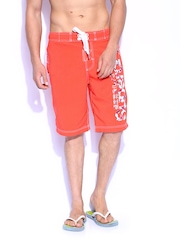 Superdry Men Orange Swimming Shorts