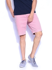 Men Pink Commodity Chino Shorts Superdry
