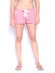 Superdry Women Neon Pink Swimming Shorts