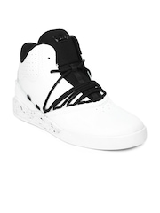 Supra Men White Leather Estaban Casual Shoes