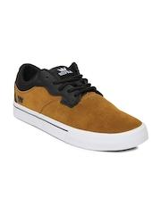 Men Brown & Black Axle Casual Shoes Supra
