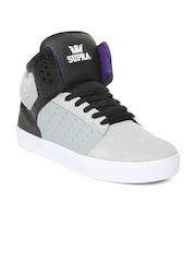 Supra Men Grey Atom Casual Shoes