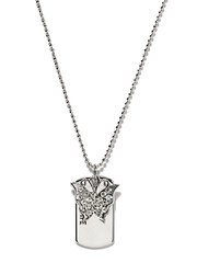 Svelte Silver Toned Pendant with Chain