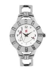 Swiss Design Women White Dial Watch SDL 2203WT