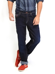 TWILLS Men Blue Straight Fit Jeans