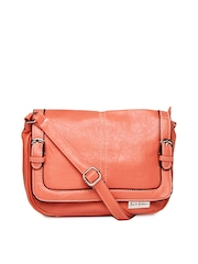 Mast & Harbour Coral Pink Sling Bag