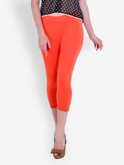 The Gud Look Women Orange Capris