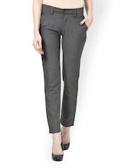 The Gud Look Women Grey Trousers
