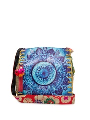 The House of Tara Women Multicoloured Printed Sling Bag