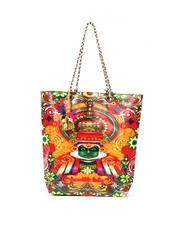 The House of Tara Women Multi-Coloured Tote Bag