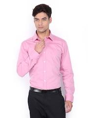 The Privilege Club Men Pink Slim Fit Formal Shirt