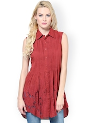The Vanca Women Red Tunic