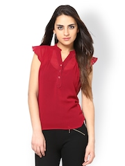 The Vanca Women Red Top