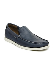 Timberland Men Blue EK Heritage CW Venetian Boat Shoes