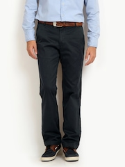 Timberland Men Charcoal Grey Lynnwood Straight Fit Chinos
