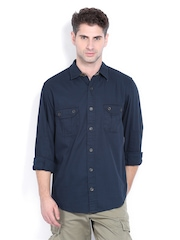 Timberland Men Navy Casual Shirt