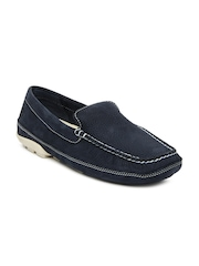 Timberland Men Navy EK Classic Lite Casual Venetia Driving Shoes