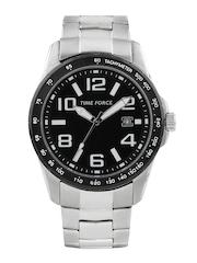 Time Force Men Black Dial Watch