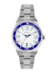 Time Force Men White Dial Watch