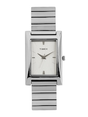 Timex Men Silver Toned Dial Watch GL05