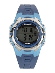 Timex Unisex Blue Digital Watch