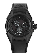 Titan HTSE Men Black Dial Watch NE1541KL01