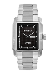 Titan HTSE Men Brown Dial Watch