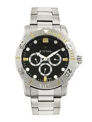 Titan Men Black Dial Watch