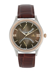 Titan Men Brown Dial Watch