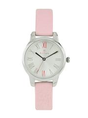 Titan Women Silver Dial Watch