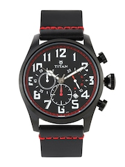 Titan Men Black Dial Watch 9477NL01J