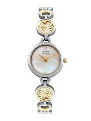 Titan Raga Women Pearly Beige Dial Watch