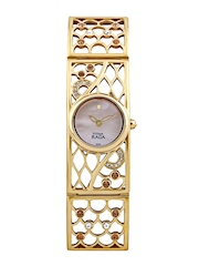 Titan Raga Women Pearly Peach Dial Watch
