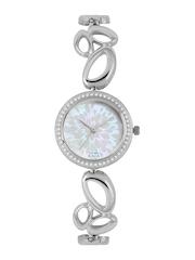 Titan Raga Women Pearly-White & Off-White Dial Watch 2539SM02