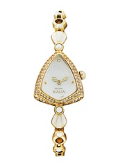 Titan Raga Women Pearly White Dial Watch