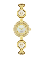 Titan Raga Women Pearly White Dial Watch