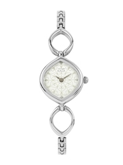 Titan Raga Women Silver Toned Dial Watch