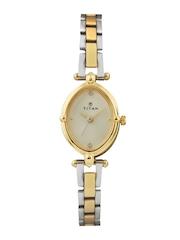 Titan Women White Dial Watch NE2419BM02