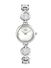 Titan Women Pearly White Dial Watch