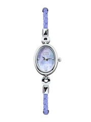Titan Raga Women Pearly Lavender Dial Watch