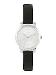 Titan Women Silver-Toned Dial Watch 2481SL02